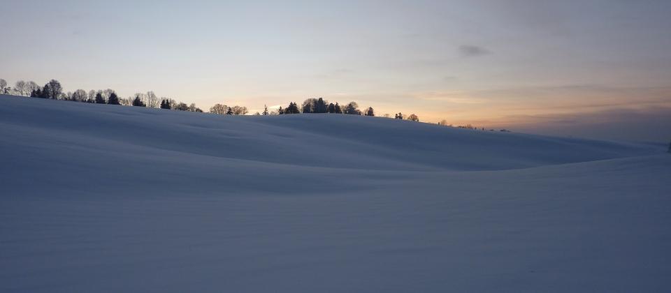 l'hiver à Reugney